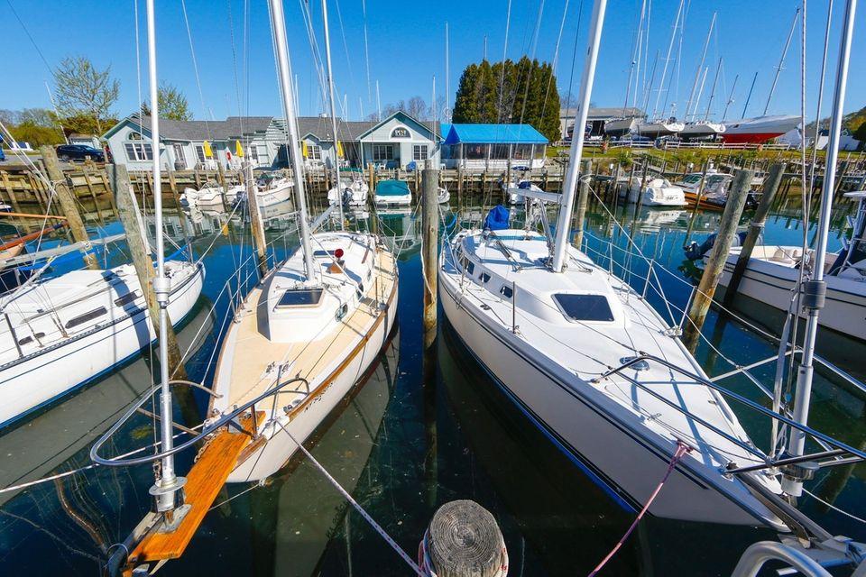The marina is at 63 S. Menantic Rd.,