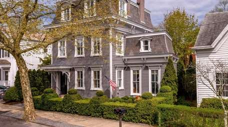This historic residence in Sag Harbor is on