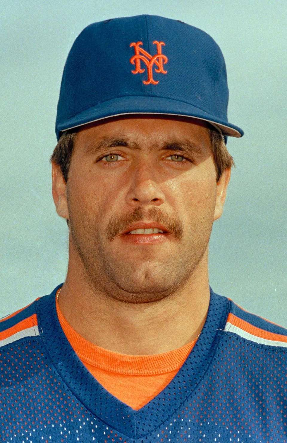 Backman had a good World Series, batting .333.
