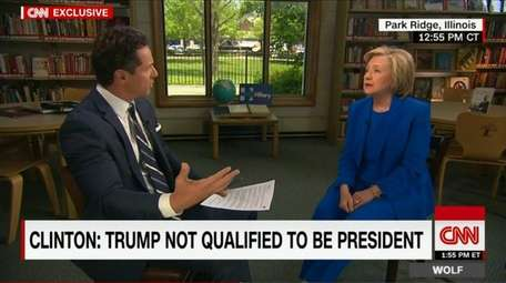 During an interview on CNN with Chris Cuomo