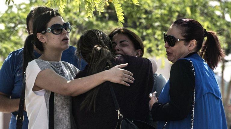 Families of passengers of EgyptAir Flight 804, now