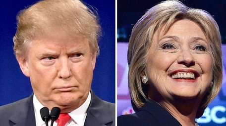 Donald Trump and Hillary Clinton are close, but