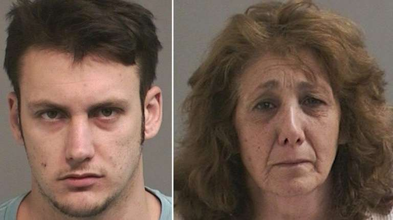 Robert A. King, 24, and his mother, Geraldine
