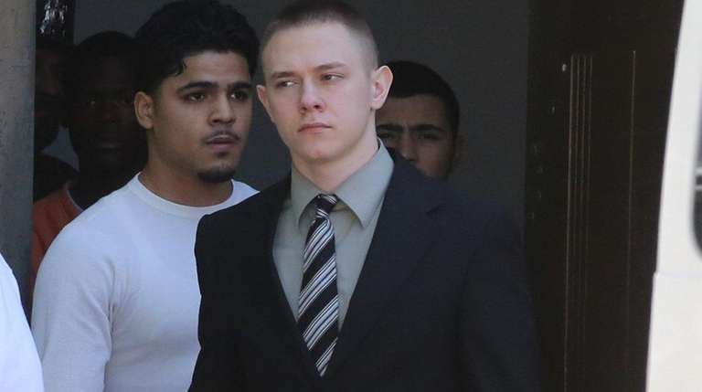 Cory Gloe, at the Nassau County Court in