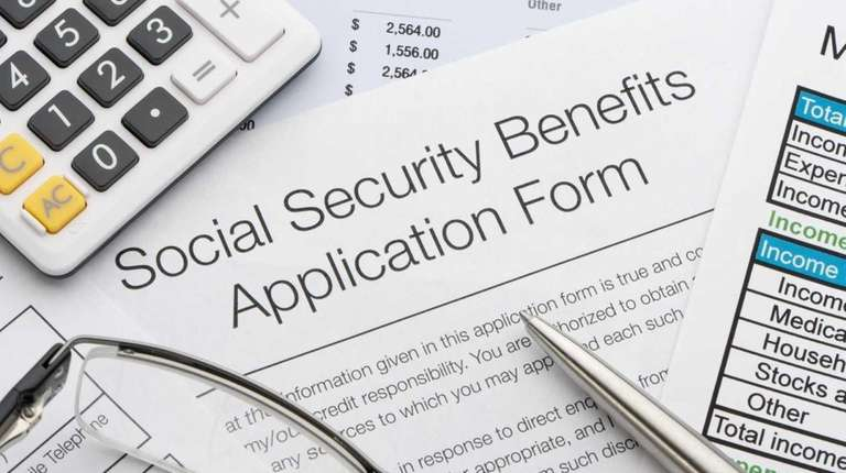 Estimated future Social Security benefits are based on