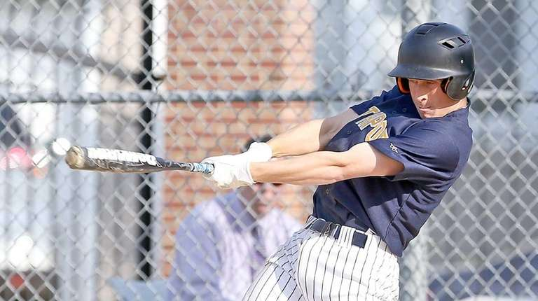 Northport's George Southerland drives the ball to the
