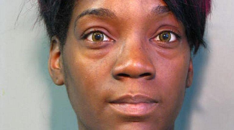 Reneisha Goodridge, 27, of Huntington, was arrested May