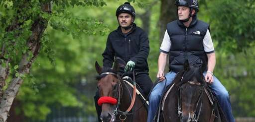 Trainer Keith Desormeaux has grip on Exaggerator. Nyquist,