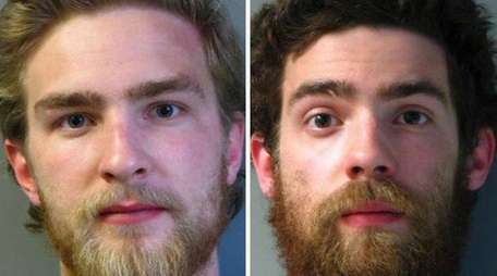 Stephen Lasser, 19, left, and his brother, Nicholas