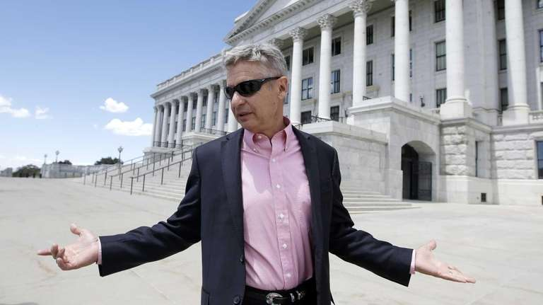Libertarian candidate and former New Mexico Gov. Gary