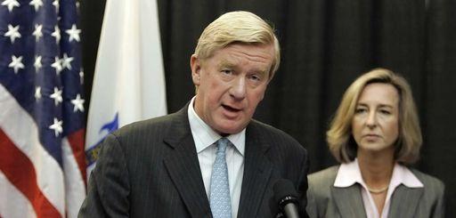 Former Massachusetts Republican Gov. William Weld endorses the
