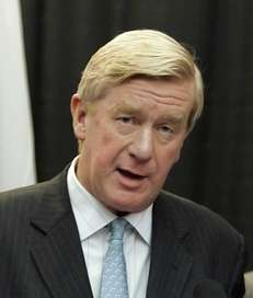 Former Massachusetts Republican Gov. William Weld endorses the