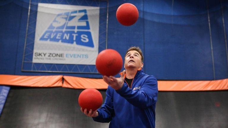 Steve Berlin, owner of the Sky Zone Trampoline