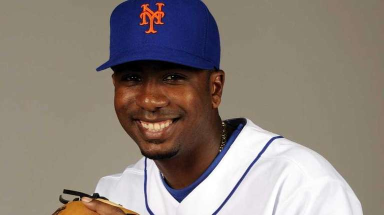 Ruben Gotay at Mets' spring training in
