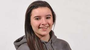 Cydney Crasa of Ward Melville poses for a
