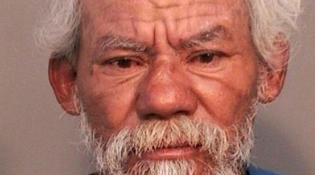 Mauricio Galo, 57, who police said is homeless,