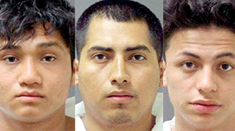 From left to right: Marvin Siciliano Nunez, Carlos