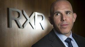 Scott Rechler, CEO of RXR Realty, is shown