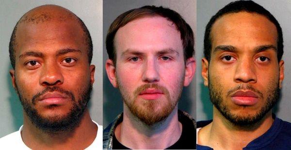 From left, Dawon Hennegan, 29, Michael Rosenfeld, 26,