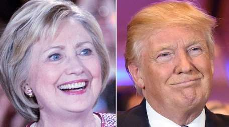 The race between Democratic presidential candidate Hillary Clinton