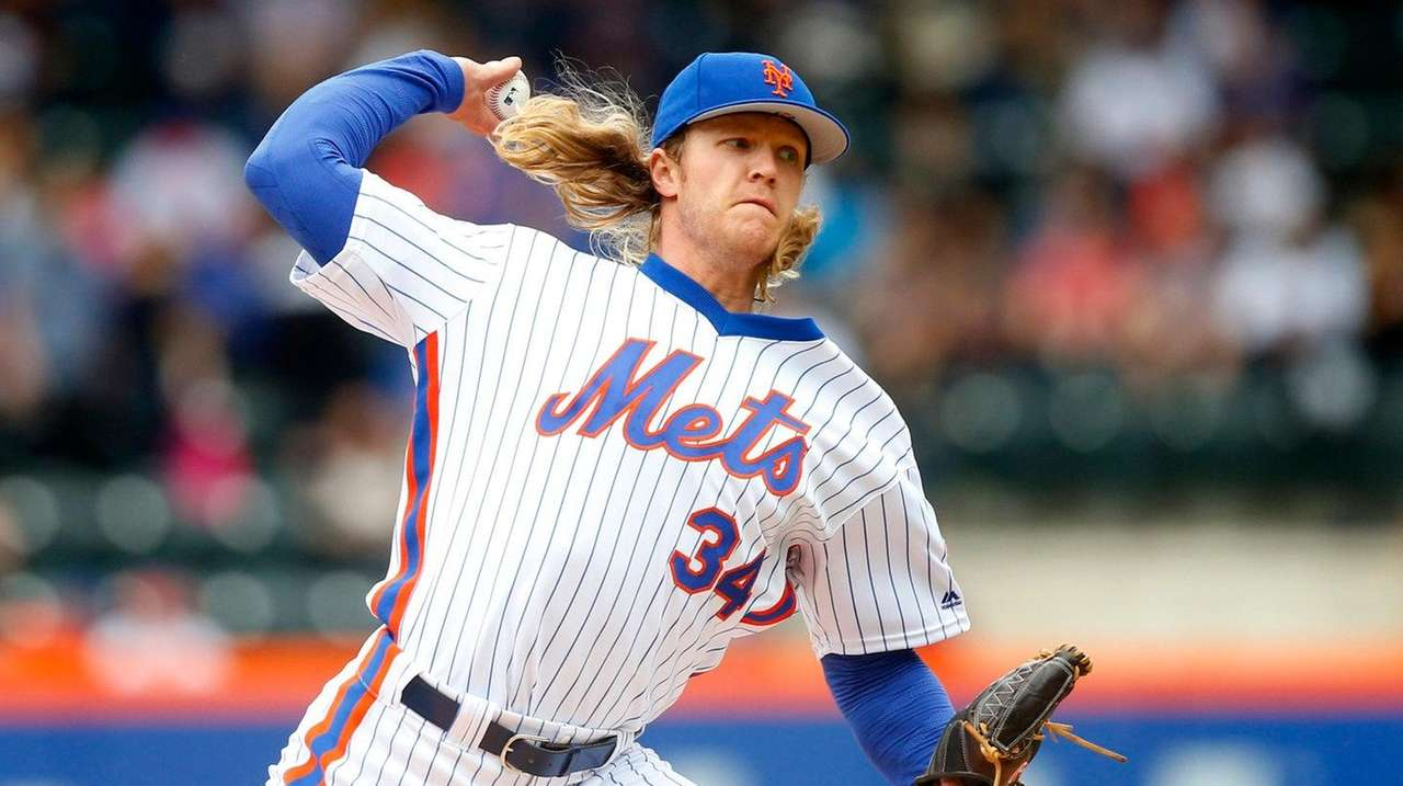 Mets starter Noah Syndergaard pushed the radar gun