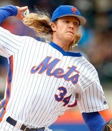 Mets starter Noah Syndergaard pushed the radar gun