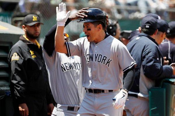 Jacoby Ellsbury of the New York Yankees is