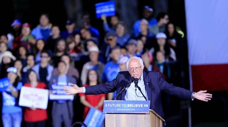 Bernie Sanders has a right to stay in