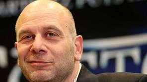 Lou DiBella speaks during the Miguel Cotto and