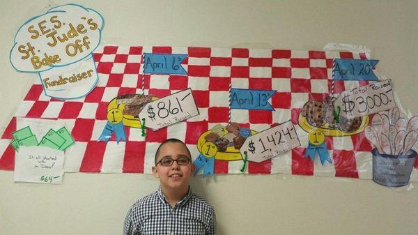 Carlos Bernal-Mendoza, a third-grader at Southampton Elementary School,