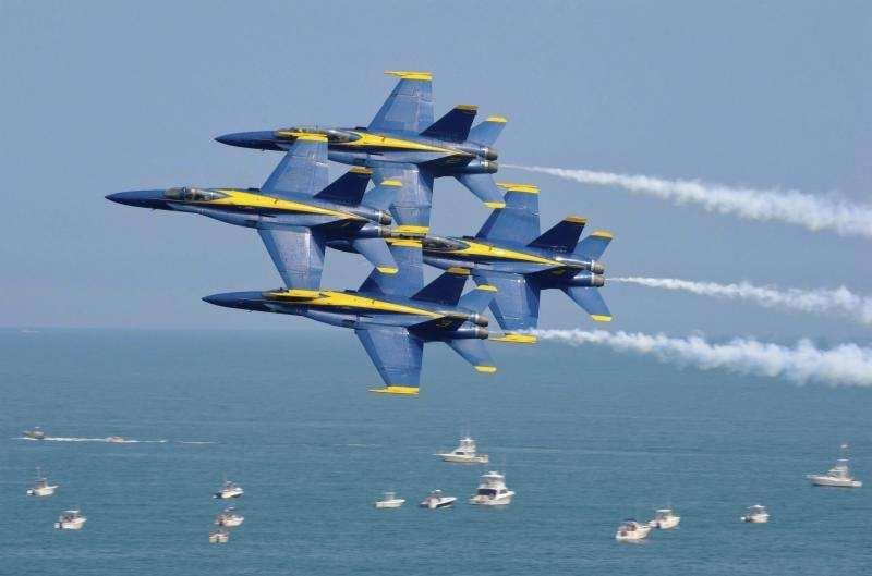 Ever wonder why the Blue Angels are named