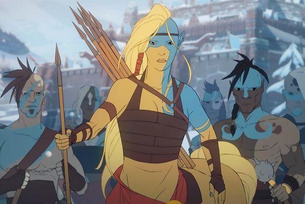 Banner Saga 2 isn't traditionally animated but the