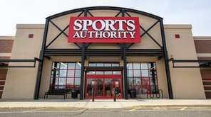 Sports Authority in Riverhead is one of the