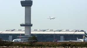 John F. Kennedy International Airport is seen in