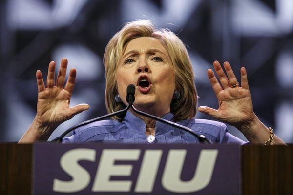 Hillary Clinton has been questioning Donald Trump's abilities