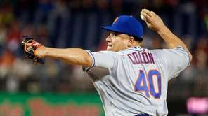 Bartolo Colon allowed one run and five