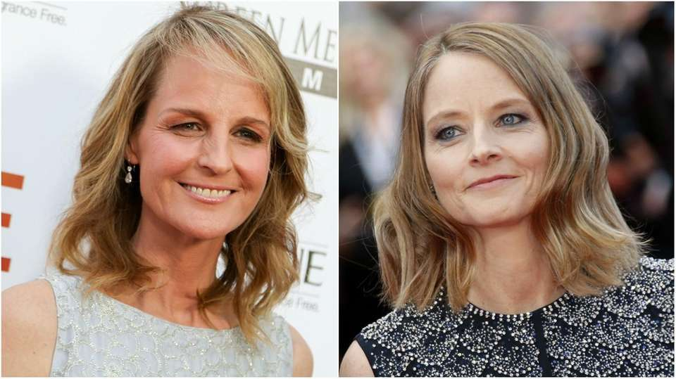 Academy Award-winning actresses Helen Hunt (