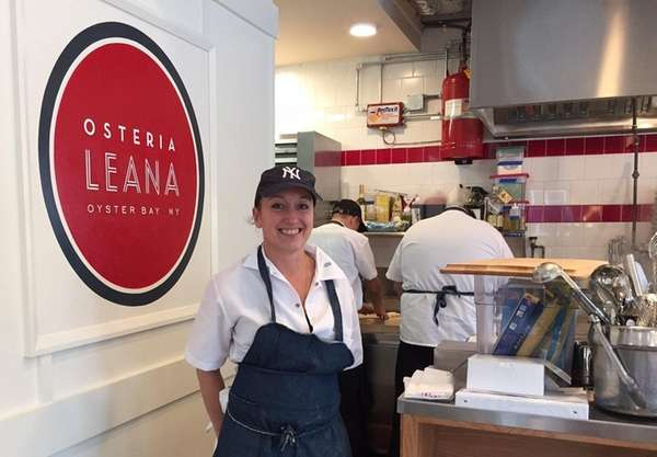 Angela Dimino is the chef at Osteria Leana,