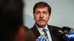 Long Island Rail Road president Patrick Nowakowski before