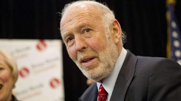 James Simons, who was a code-breaker for the