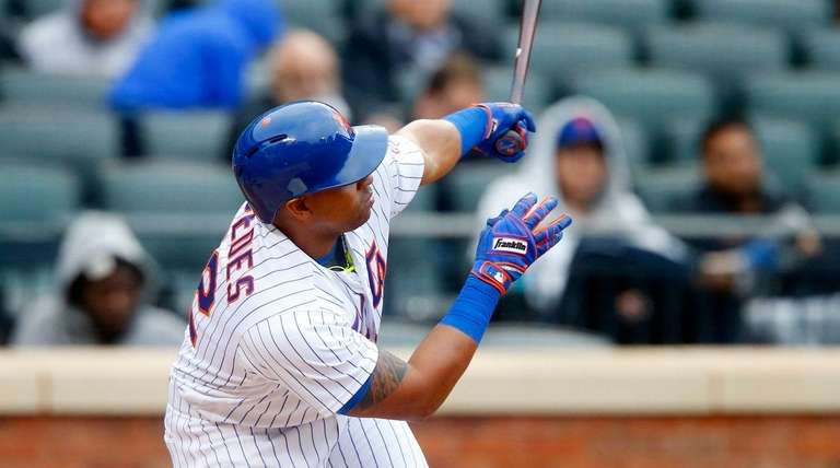 Yoenis Cespedes' 15 home runs led the major