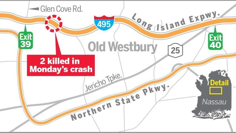 This map shows where a fatal accident occurred