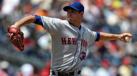Steven Matz threw eight shutout innings against the