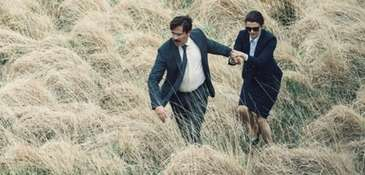 Colin Farrell and Rachel Weisz are both shortsighted