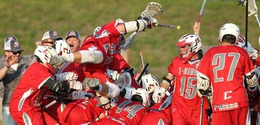 Connetquot celebrates the win over Smithtown East in