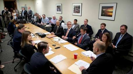 The Public Authorities Control Board meets at the