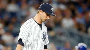 Chasen Shreve #45 of the New York Yankees