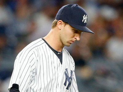 Chasen Shreve #45 of the New York Yankees