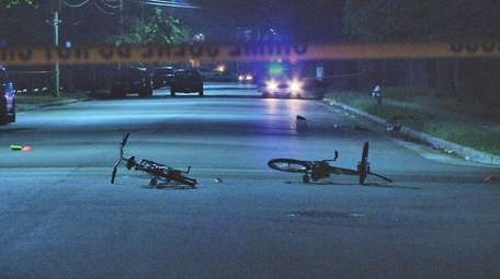 Nassau County police investigate late Wednesday, May 25,