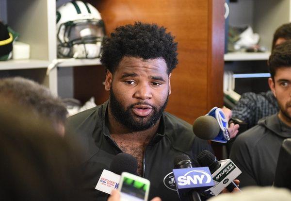 New York Jets defensive end Sheldon Richardson answers